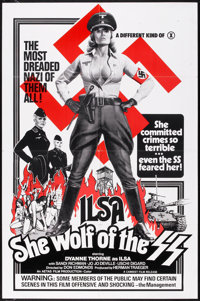 "Ilsa, She Wolf of the SS (Cambist Films, 1975). One Sheet (27"" X 41""). Cult Classic"