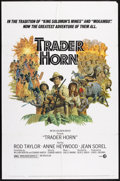 "Movie Posters:Adventure, Trader Horn (MGM, 1973). One Sheet (27"" X 41""). Adventure.. ..."