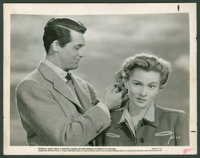 "Suspicion (RKO, 1941). Still & Gaston Longet Keybook Still (8"" X 10"" & 7.75"" X 9.5"")..."