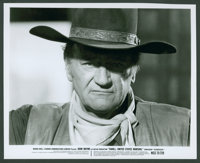 "John Wayne Lot (Various, 1950s-1970s). Stills (2) & Color Stills (3) (8"" X 10""). Western. ... (Total:..."