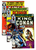 Modern Age (1980-Present):Science Fiction, King Conan #1-13 and 15 Group (Marvel, 1980-83) Condition: AverageNM.... (Total: 19 Comic Books)