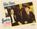 """Movie Posters:Comedy, Stand-In (United Artists, 1937). Lobby Card (11"""" X 14"""").. ..."""