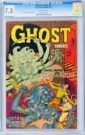 Golden Age (1938-1955):Horror, Ghost #5 (Fiction House, 1952) CGC VF- 7.5 Off-white pages....