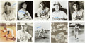 Autographs:Photos, Brooklyn Dodgers Signed Photos Lot of 31. ...