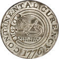 Colonials, 1776 $1 Continental Dollar, CURENCY, Pewter MS63 PCGS. CAC....
