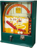"Basketball Collectibles:Others, 1930's Era ""Professional Basket Ball"" Arcade Game. ..."