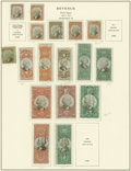 Stamps, U.S. REVENUE COLLECTION, 1862-1954. ... (Total: 1 Album)