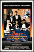 "Movie Posters:Comedy, Diner (MGM, 1982). One Sheet (27"" X 41""). Comedy.. ..."