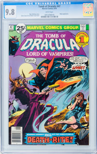 Tomb of Dracula #47 (Marvel, 1976) CGC NM/MT 9.8 White pages