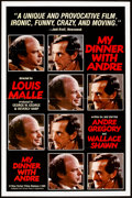 "Movie Posters:Drama, My Dinner with Andre (New Yorker Films, 1981). One Sheet (27"" X 41""). Drama.. ..."