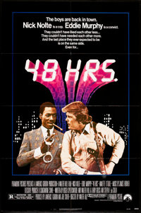 """48 Hrs. (Paramount, 1982). One Sheet (27"""" X 41""""). Action"""