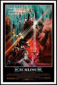 "Excalibur (Warner Brothers, 1981). One Sheet (27"" X 41""). Fantasy"