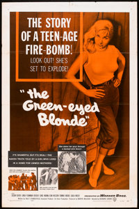 """The Green-Eyed Blonde (Warner Brothers, 1957). One Sheet (27"""" X 41""""). Bad Girl"""