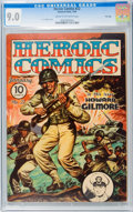 Heroic Comics #22 File Copy (Eastern Color, 1944) CGC VF/NM 9.0 Cream to off-white pages