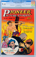 Golden Age (1938-1955):Miscellaneous, Pioneer Picture Stories #4 Mile High pedigree (Street & Smith, 1942) CGC NM 9.4 Off-white to white pages....