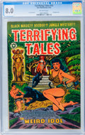 Golden Age (1938-1955):Horror, Terrifying Tales #14 (Star Publications, 1953) CGC VF 8.0 Off-whitepages....