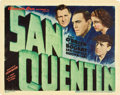 "Movie Posters:Crime, San Quentin (Warner Brothers, 1937). Title Lobby Card (11"" X 14"")....."