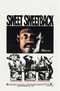 "Movie Posters:Blaxploitation, Sweet Sweetback's Baadasssss Song (Cinemation Industries, 1971).One Sheet (27"" X 41"").. ..."