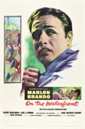 """Movie Posters:Drama, On the Waterfront (Columbia, 1954). One Sheet (27"""" X 41"""").. ..."""