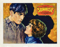 "Movie Posters:Melodrama, Sunrise (Fox, 1927). Lobby Card (11"" X 14"").. ..."
