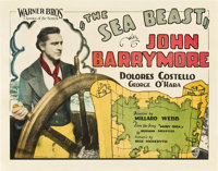 "The Sea Beast (Warner Brothers, 1926). Title Lobby Card (11"" X 14"")"