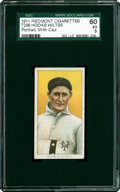 Baseball Cards:Singles (Pre-1930), 1909-11 T206 Hooks Wiltse Portrait With Cap SGC 60 EX 5....