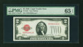 Small Size:Legal Tender Notes, Fr. 1501 $2 1928 Legal Tender Note. PMG Gem Uncirculated 65 EPQ.. ...
