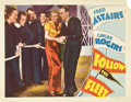 "Movie Posters:Musical, Follow the Fleet (RKO, 1936). Lobby Card (11"" X 14"").. ..."