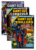 Silver Age (1956-1969):Horror, Tower of Shadows/Giant-Size Dracula Group (Marvel, 1974-75) Condition: Average FN/VF.... (Total: 17 Comic Books)