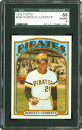 Baseball Cards:Singles (1970-Now), 1972 Topps Roberto Clemente #309 SGC 88 NM/MT 8....