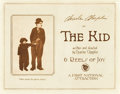 """Movie Posters:Comedy, The Kid (First National, 1921). Title Lobby Card (11"""" X 14"""").. ..."""