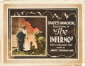 """Movie Posters:Fantasy, Dante's Inferno (Jawitz Pictures Corp., 1921). Title Lobby Card(11"""" X 14"""").. ... (Total: 2 Items)"""