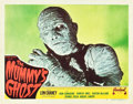 "Movie Posters:Horror, The Mummy's Ghost (Realart, R-1951). Lobby Card (11"" X 14"").. ..."