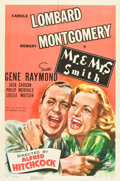 "Movie Posters:Hitchcock, Mr. & Mrs. Smith (RKO, 1941). One Sheet (27"" X 41"") Style A....."