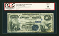 National Bank Notes:Virginia, Richmond, VA - $10 1882 Value Back Fr. 577 The American NB Ch. # (S)5229. ...