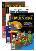 Bronze Age (1970-1979):Cartoon Character, Uncle Scrooge Group (Gold Key, 1970s-80s) Condition: Average FN.... (Total: 89 Comic Books)
