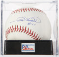 Autographs:Baseballs, Gary Sheffield Single Signed Baseball PSA Mint+ 9.5. ...