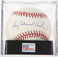 Autographs:Baseballs, Gary Carter Single Signed Baseball PSA Mint+ 9.5. ...