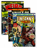 Bronze Age (1970-1979):Horror, Uncanny Tales/Vault of Evil/Weird Wonder Tales Group (Marvel,1970s) Condition: Average VF.... (Total: 32 Comic Books)
