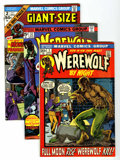 Bronze Age (1970-1979):Horror, Werewolf by Night Group (Marvel, 1972-77) Condition: Average VF....(Total: 58 Comic Books)