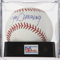 Autographs:Baseballs, Jim Bunning Single Signed Baseball PSA Gem Mint 10. ...