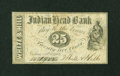 Obsoletes By State:New Hampshire, Nashua, NH- White & Hill 25¢ Oct. 1, 1862. ...