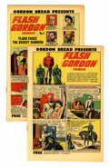 Golden Age (1938-1955):Science Fiction, Flash Gordon Promo Copies #1 and 2 Group (Harvey, 1951) Condition:Average VF/NM.... (Total: 2 Comic Books)