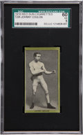 Boxing Cards:General, 1910 T226 Red Sun Johnny Coulon SGC 60 EX 5....