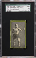 Boxing Cards:General, 1910 T226 Red Sun Mike Twin Sullivan SGC 40 VG 3....