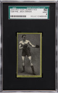 Boxing Cards:General, 1910 T226 Red Sun Phil. Jack O'Brien SGC 50 VG/EX 4....