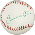 Autographs:Baseballs, The Finest Jimmie Foxx Single Signed Baseball in the Hobby....