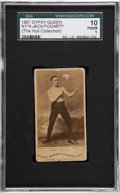 Boxing Cards:General, 1887 N174 Gypsy Queen Prizefighters Jack Fogarty SGC 10 PR 1. ...