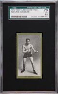 Boxing Cards:General, 1910 T226 Red Sun Jack Goodman SGC 70 EX+ 5.5....