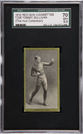 Boxing Cards:General, 1910 T226 Red Sun Tommy Sullivan SGC 70 EX+ 5.5. ...